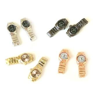 KJ♠ 1:12 Miniature Watch Multiple Colour Dollhouse Deco Accessories Kids Toy