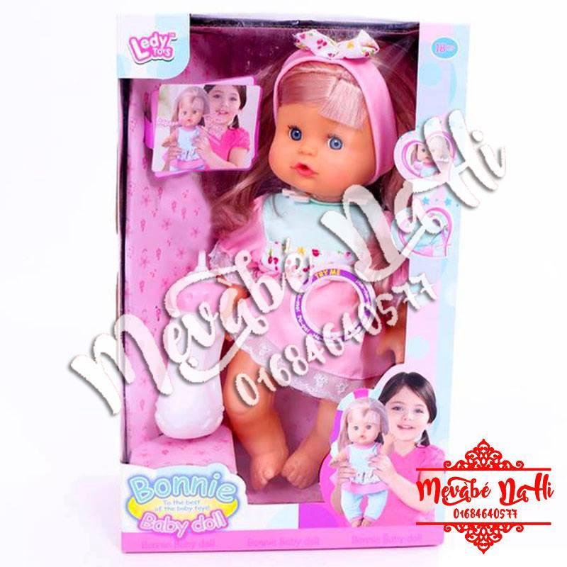 Búp bê Baby Doll: Có âm thanh cười, khóc, uống nước, đi vệ sinh (tè)