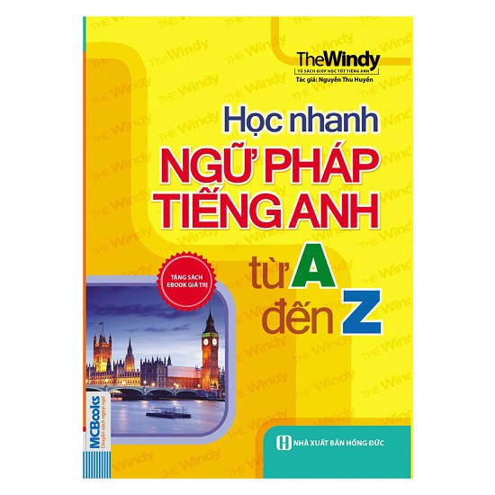 Sách -Học Nhanh Ngữ Pháp Tiếng Anh Từ A Đến Z