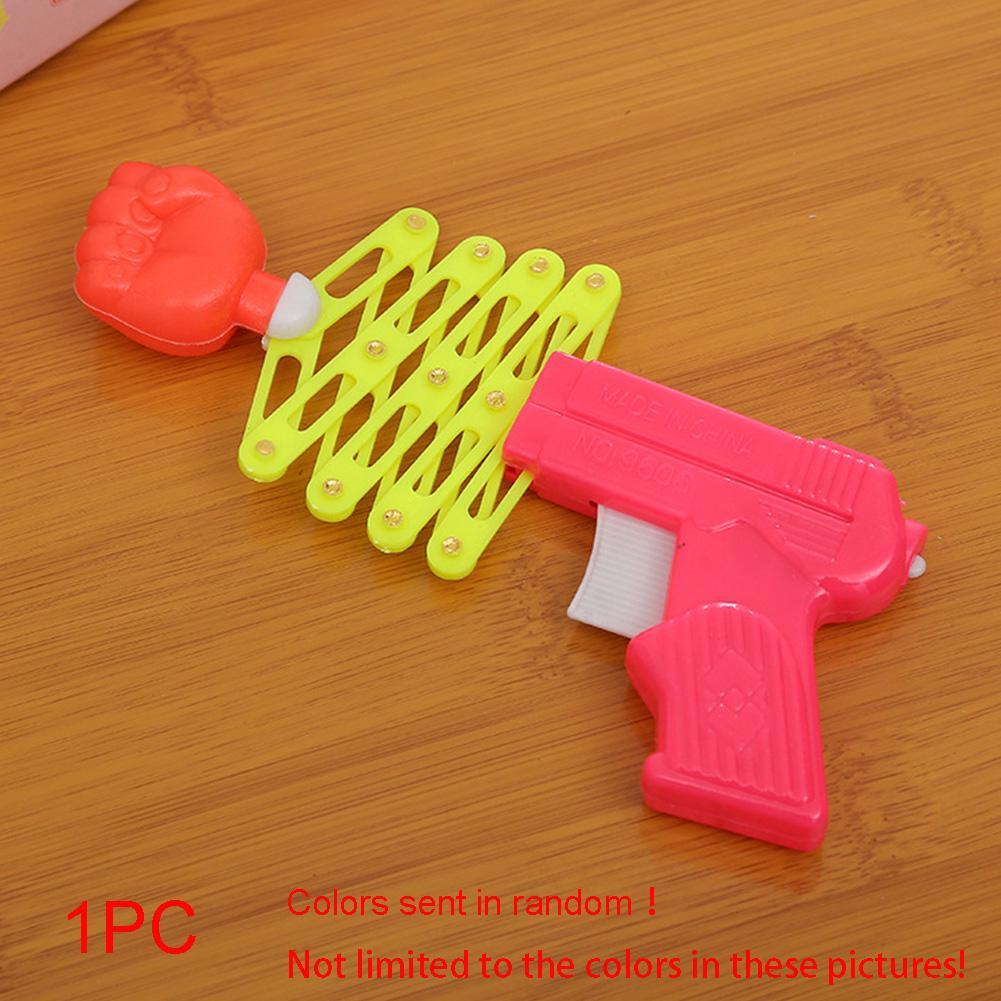 new Prank Elastic Spring Fist Magic Funny Children Toys