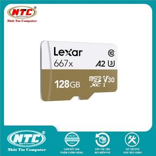 [Mã ELMSBC giảm 8% đơn 300K] Thẻ Nhớ MicroSDXC Lexar Professional 667X V30 U3 4K A1 128GB R100MB/s - Không Box (Vàng)