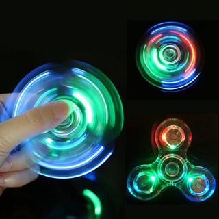 Con Quay Đồ Chơi Fidget Spinner Edc Adhd Với Đèn Led Giúp Giảm Stress