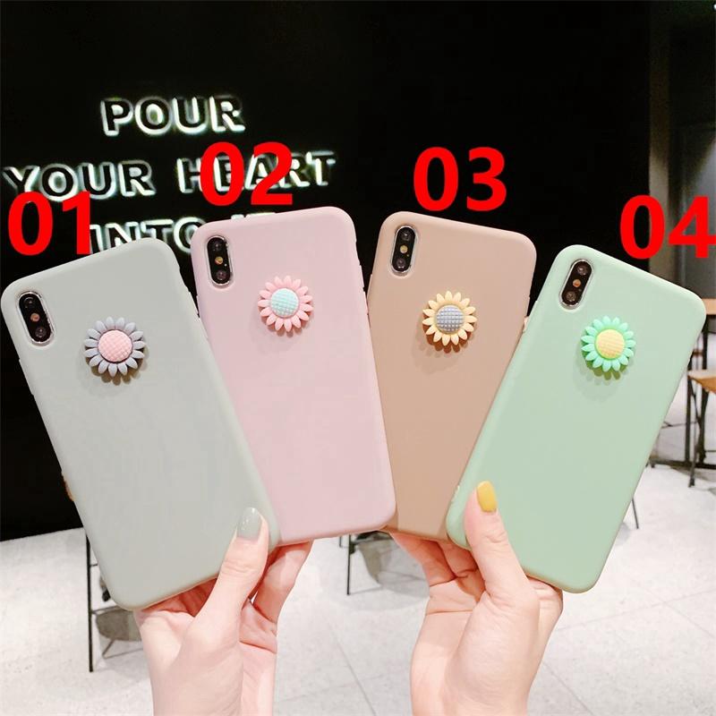 Mobile Phone Case OPPO R11 Plus/R11S/R11S Plus/R17/R17 Pro-stereo Daisy-TPU
