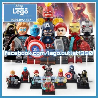 Xếp hình The Avengers – End Game Mini Figures