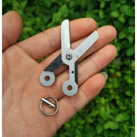 Kéo mini dạng treo móc khóa đa năng và tiện dụng đi phượt, du lịch