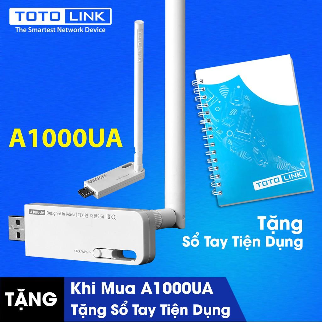 [FREESHIP] Bộ thu sóng USB WiFi băng tần kép TOTOLINK A1000UA Tặng kèm áo mưa cao cấp cho bé yêu - 10063774 , 285662916 , 322_285662916 , 363000 , FREESHIP-Bo-thu-song-USB-WiFi-bang-tan-kep-TOTOLINK-A1000UA-Tang-kem-ao-mua-cao-cap-cho-be-yeu-322_285662916 , shopee.vn , [FREESHIP] Bộ thu sóng USB WiFi băng tần kép TOTOLINK A1000UA Tặng kèm áo mưa c