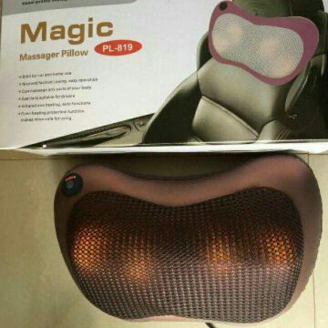 Gối massage hồng ngoại magic 6 bi. - 2414814 , 11308205 , 322_11308205 , 305000 , Goi-massage-hong-ngoai-magic-6-bi.-322_11308205 , shopee.vn , Gối massage hồng ngoại magic 6 bi.