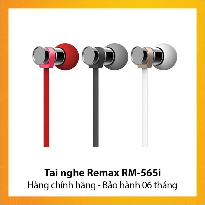 Tai nghe Remax RM-565i - Hàng chính hãng - Bảo hành 6 tháng