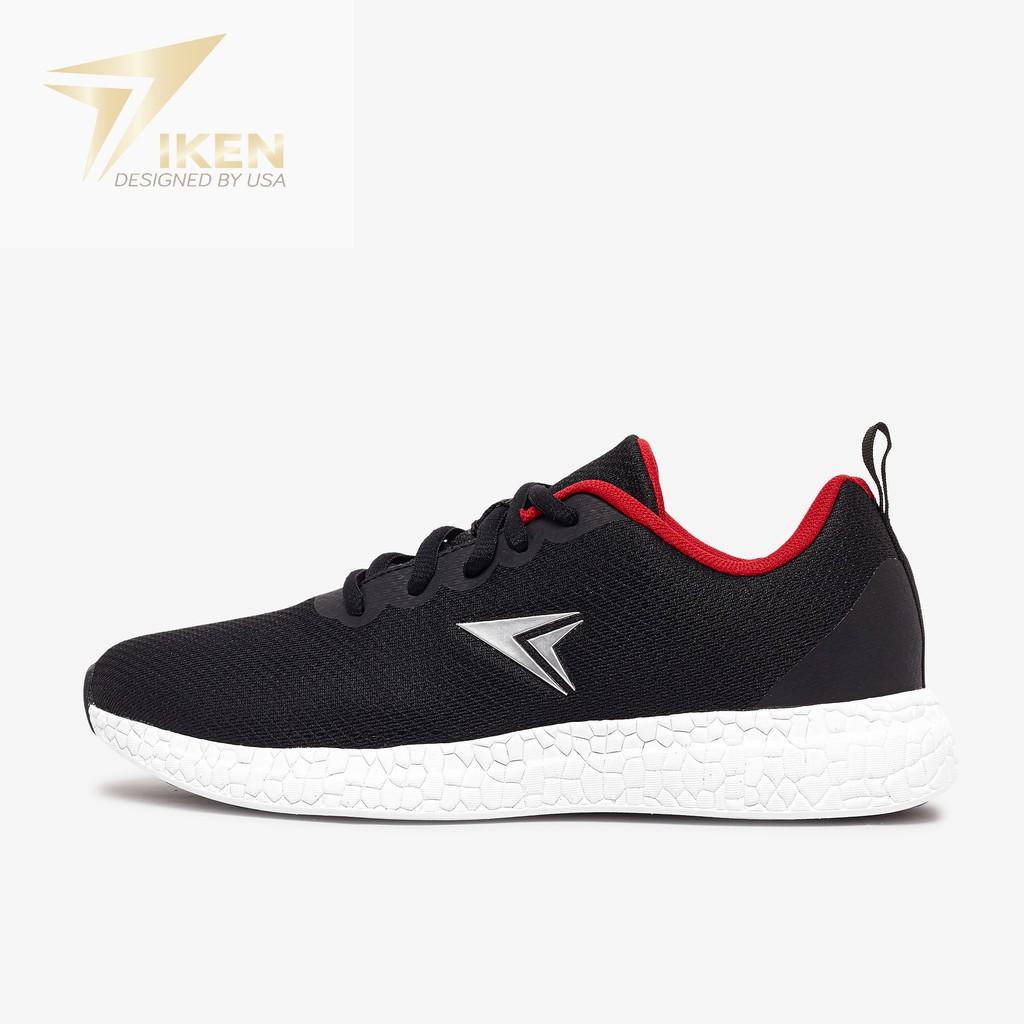 Giày thể thao IKEN Fox đỏ đen ( CÓ ẢNH THẬT)