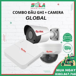Combo Camera IP + Đầu Ghi Global CHÍNH HÃNG BH 12 THÁNG thumbnail