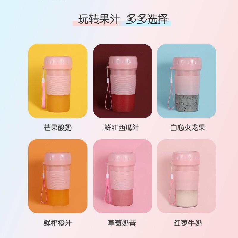 [ Rẻ Bền Đẹp]  Máy Xay Sinh Tố Cầm Tay Mini Padabanic Máy Xay Mini Blender