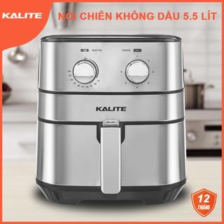 Nồi chiên không dầu Kalite Q5 thương hiệu Australia dung tích 5.5 lít công suất 1700W hàng chính hãng, bảo hành 12 tháng