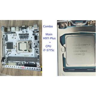 Combo Main H97i chuẩn itx +cpu i7-5775c.ram 6gmới keng nha hàng không tì vết