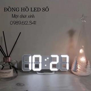 Đồng hồ led ❤️FREESHIP❤️ đồng hồ số (hàng có sẵn)