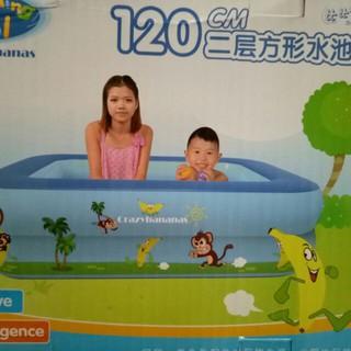 Bể bơi cho bé 1.2m tiện dụng (TaKaShop)