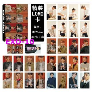Hộp 30 ảnh lomo card nhóm nhạc EXO