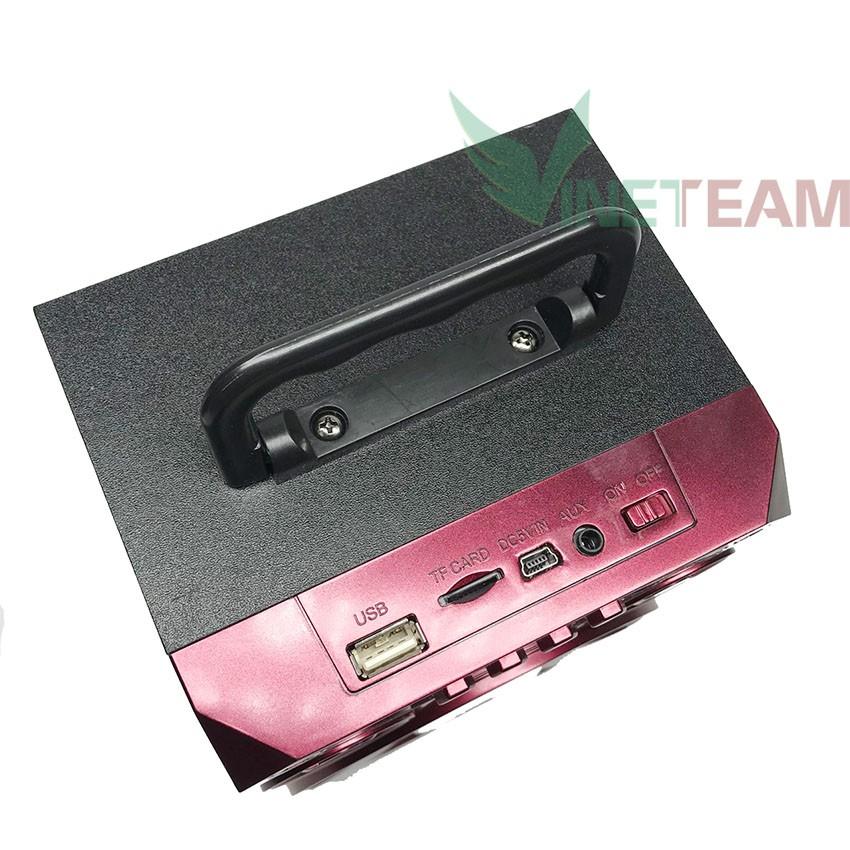 [Freeship] Loa kéo, Loa Bluetooth mini xách tay WKS-501A-B-C Công suất 5W -dc3032