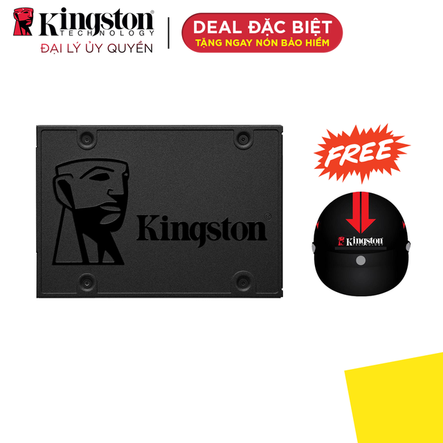 Ổ cứng SSD Kingston NOW A400 480GB 2.5'' SATA III (SA400S37/480G) - Hãng phân phối chính thức