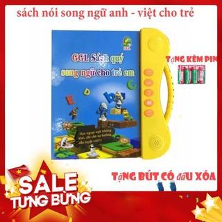 [hot] Sách Nói Điện Tử Song Ngữ Anh- Việt Giúp Trẻ Học Tốt Tiếng Anh – Hàng Mới