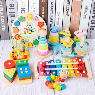 COMBO 7 món đồ chơi giúp Bé phát triển kỹ năng sớm Thông Minh