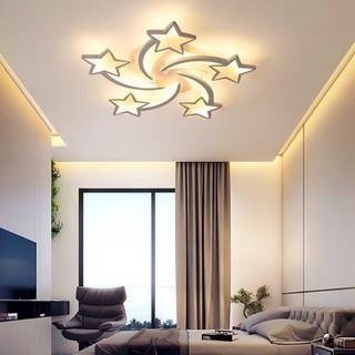 Đèn Ốp Trần - Đèn LED Ốp Trần - Mâm Ốp Trần Hiện Đại sao 5 cánh, 3 chế độ ánh sáng, bảo hành 2 năm