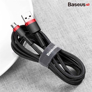 Cáp sạc nhanh Baseus Cafule Micro USB cho Smartphone Android Samsung Xiaomi Oppo Asus Huawei (2.4A, Quick charge 3.0 thumbnail