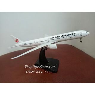 Mô hình máy bay tĩnh Boeing B777-300ER Japan Airlines 20cm