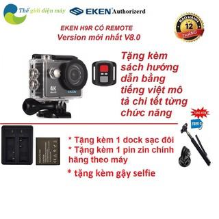 Camera hành trình EKEN H9R version 8.1, 20 MP 4K 30 FPS