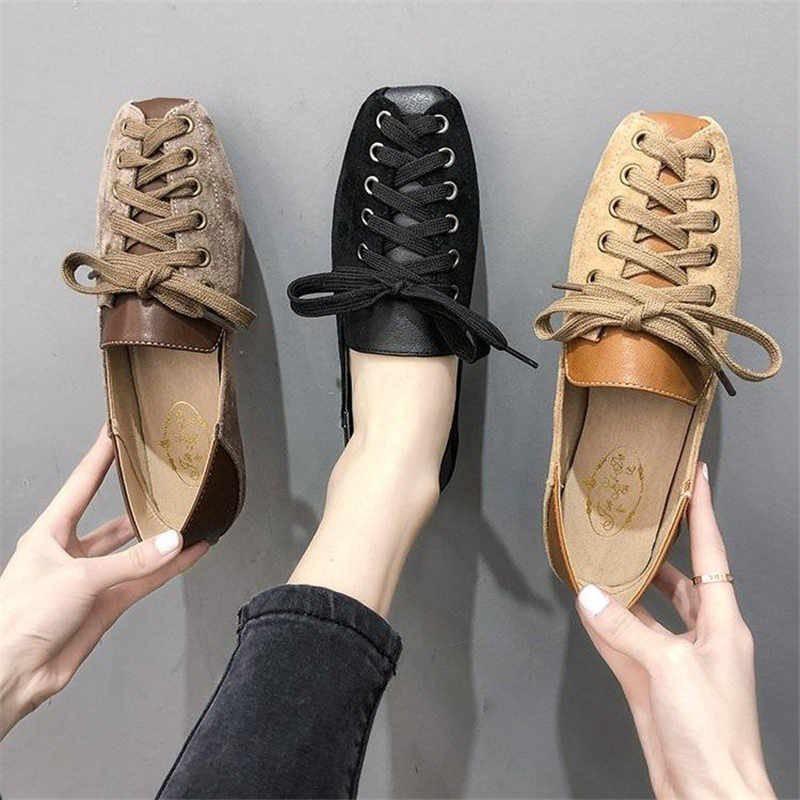 giày đế bằng giày đi dạo