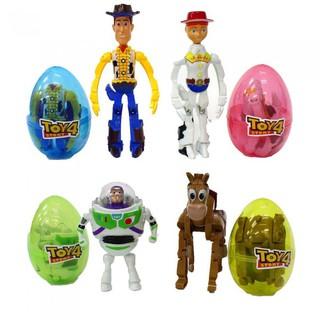 Combo 4 quả trứng biến hình nhân vật phim Toy Story 4