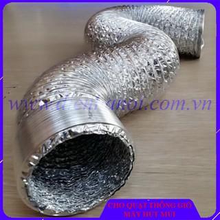 Ống bạc đường kính 100mm cho quạt thông gió, máy hút mùi