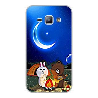 Ốp lưng dẻo Samsung J1 – Brown Cony Đàn