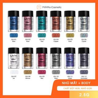 Nhũ bắt sáng Face and Body NYX Gliter - chất nhũ hạt thumbnail