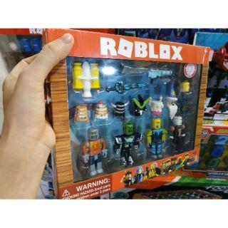 Bộ 4 mô hình nhân vật game Roblox kèm phụ kiện