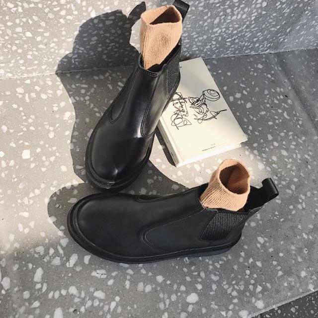 [order] giày da nữ -kèm hình thật