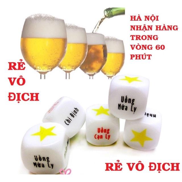 TỔNG KHO Xúc Xắc Xí Ngầu Uống Bia Rượu Lớn Nhất VN.