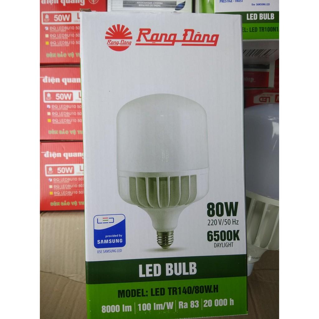 Bóng đèn led Rạng Đông 80w - led công suất cao .