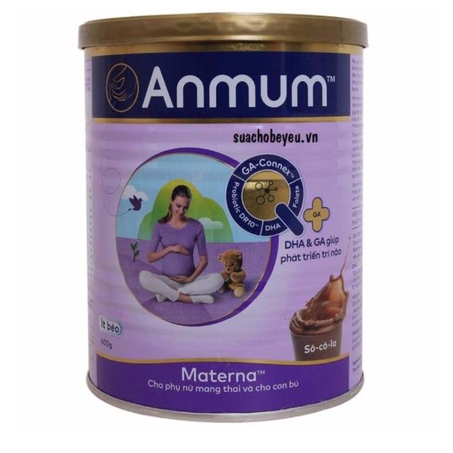 Sữa Anmum Materna vị sôcola 400g