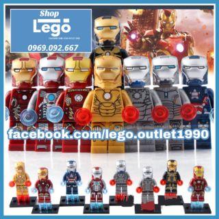 Xếp hình Iron Man tuyển tập mới nhất Lego Minifigures Xinh 027 034 thumbnail