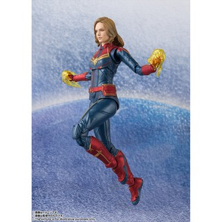 Mô hình chính hãng SHF Captain Marvel
