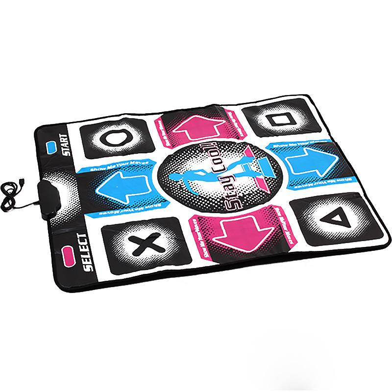B Non-Slip Dancing Step Dance Mat Pad for PC TV AV Video 94 x 82 1.1cm