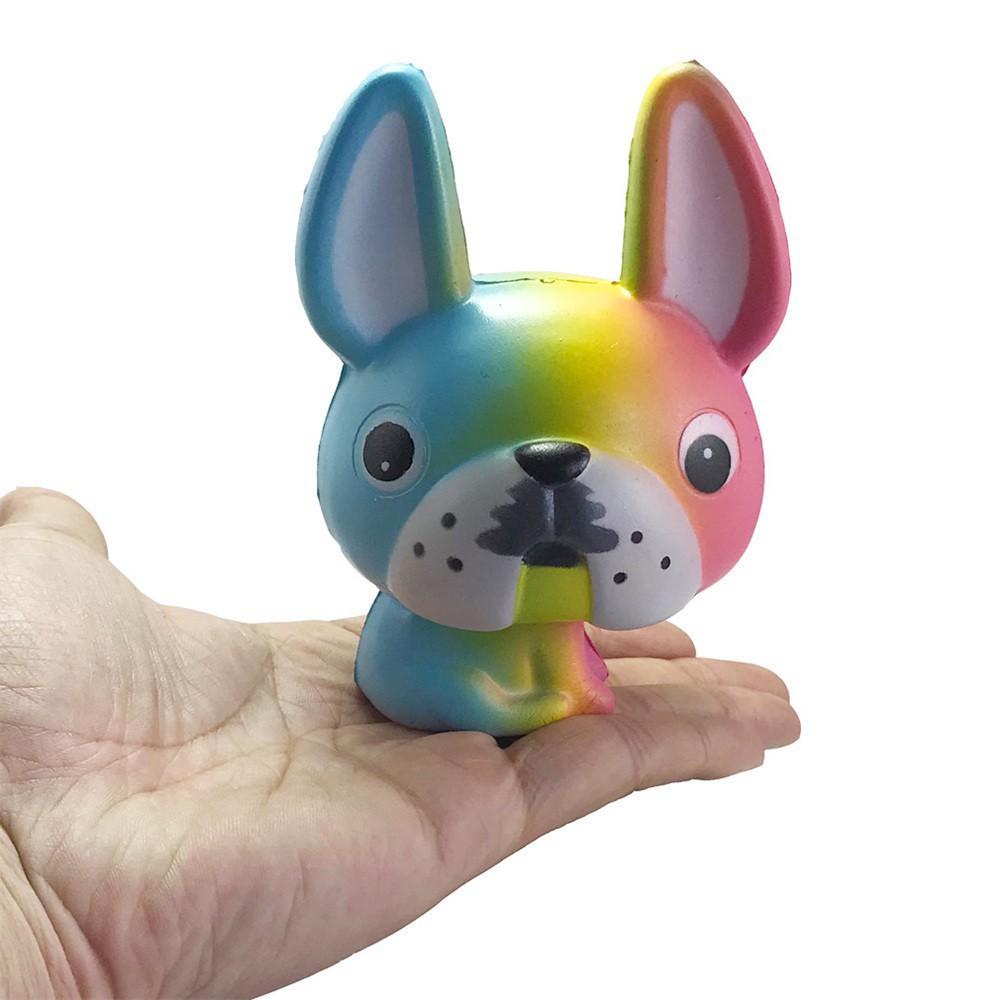 Đồ chơi mềm dẻo giảm stress hình chú chuột dễ thương mã SPUG9793