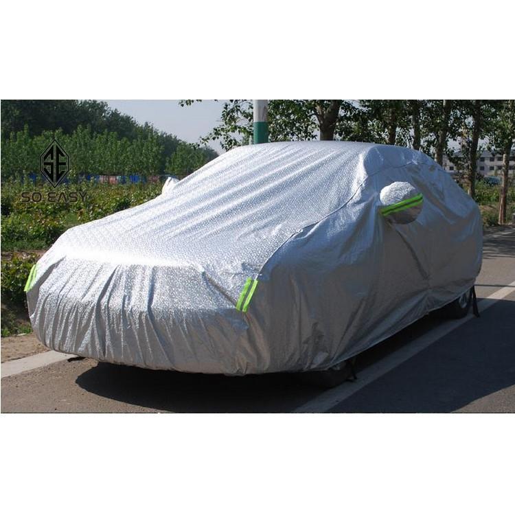 Bạt, Tấm, áo trùm che phủ xe hơi, xe ô tô phủ nhôm bạc 4 chỗ, 2 lớp chống nóng, mưa, xước sơn, vân 4 - 3301300 , 729094502 , 322_729094502 , 439000 , Bat-Tam-ao-trum-che-phu-xe-hoi-xe-o-to-phu-nhom-bac-4-cho-2-lop-chong-nong-mua-xuoc-son-van-4-322_729094502 , shopee.vn , Bạt, Tấm, áo trùm che phủ xe hơi, xe ô tô phủ nhôm bạc 4 chỗ, 2 lớp chống nóng, m