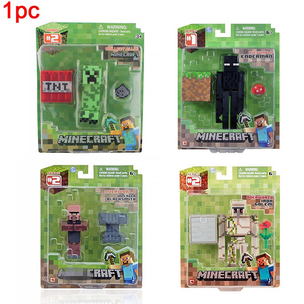 Toy Building Block Decoration Gift Movable Children Game Garage Kit Collection Action Figure Dolls