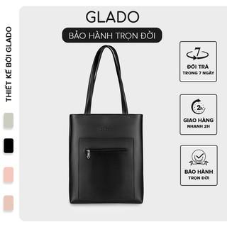 [Mã INCU50 giảm 50k đơn 250k] Túi xách nữ thời trang Glado màu đen - TG001 thumbnail