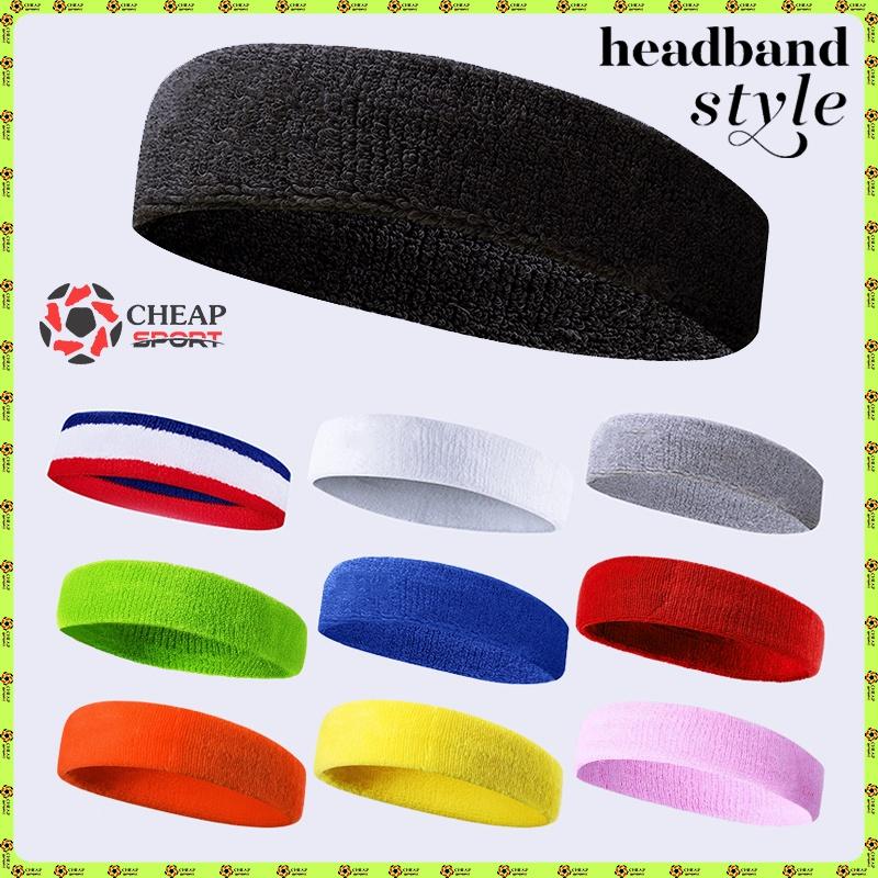 Băng Đô Thể Thao Headband Băng Trán Thấm Mồ Hôi Dùng Cho Chạy Bộ, Bóng Rổ, Bóng Chuyền, Bóng Đá, Tennis, Cầu Lông