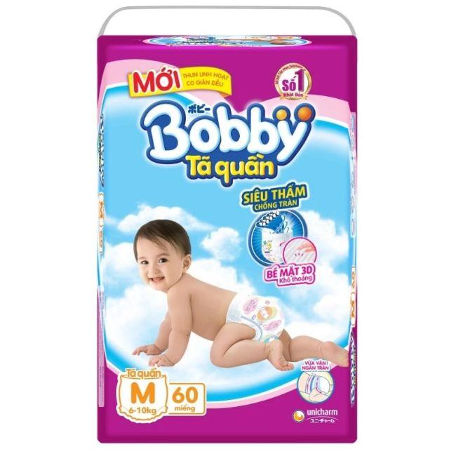 Tã quần Bobby M60 (mới)