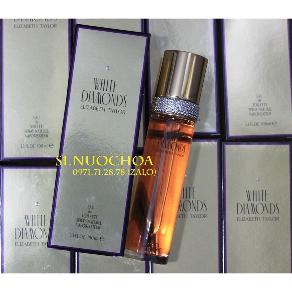 Nước Hoa Elizabeth Taylor White Diamonds 100ml