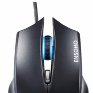 Chuột quang có dây Ensoho E-G214B (Đen) - 2511677 , 210420884 , 322_210420884 , 146000 , Chuot-quang-co-day-Ensoho-E-G214B-Den-322_210420884 , shopee.vn , Chuột quang có dây Ensoho E-G214B (Đen)