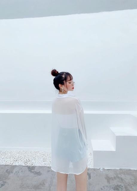 SƠ MI VOAN ULZZANG NHẸ NHÀNG NỮ TÍNH - S0598